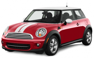 Car rental - Mini Cooper